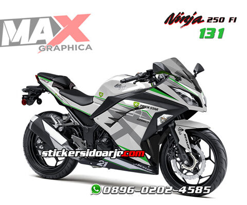 decal sticker ninja 250 fi maxgraphica